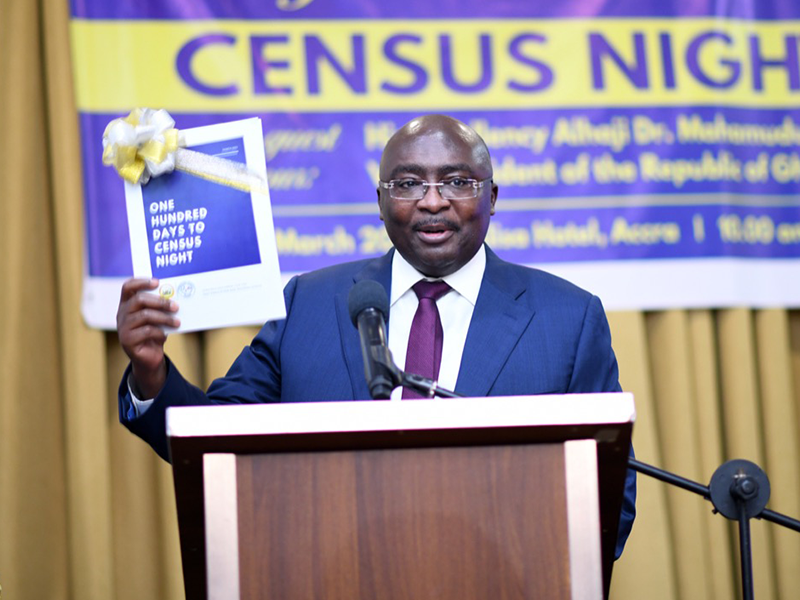 Launch of 100 Days to Census Night