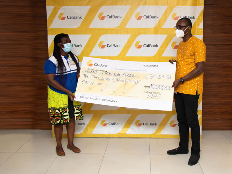CalBank donates GHS 10,000 to the Census